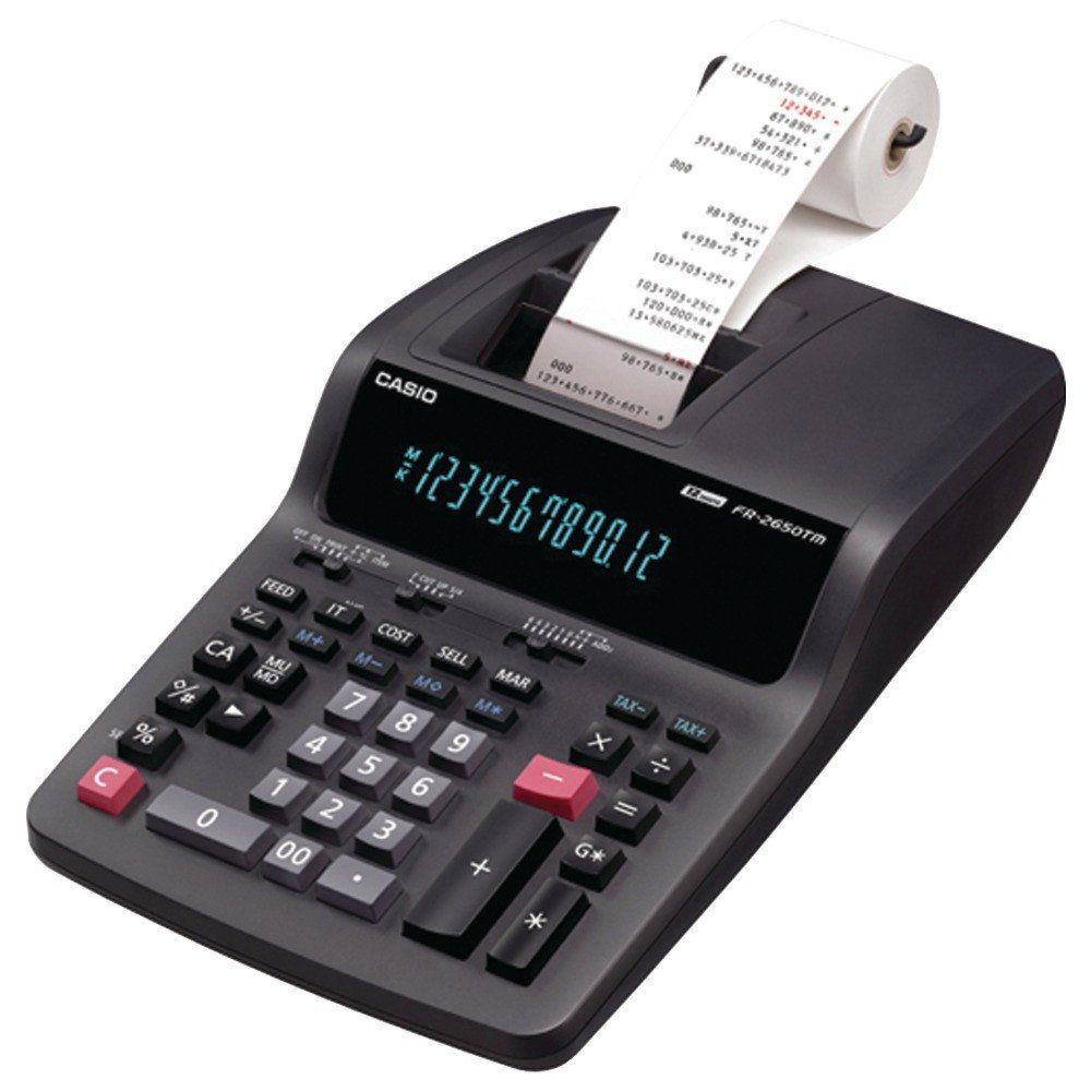 Casio desktop printing calculator usmart ny desktop