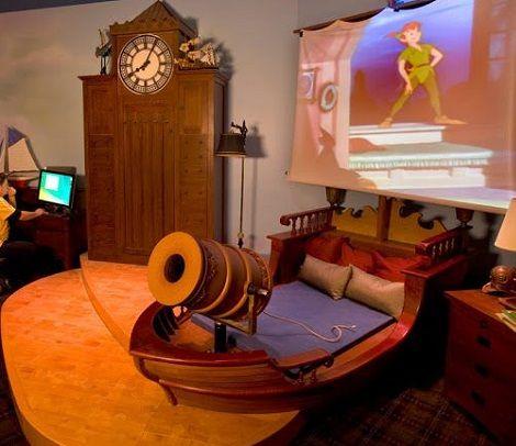 Ideas decorar habitaci n disney peter pan ni os - Habitaciones infantiles disney ...