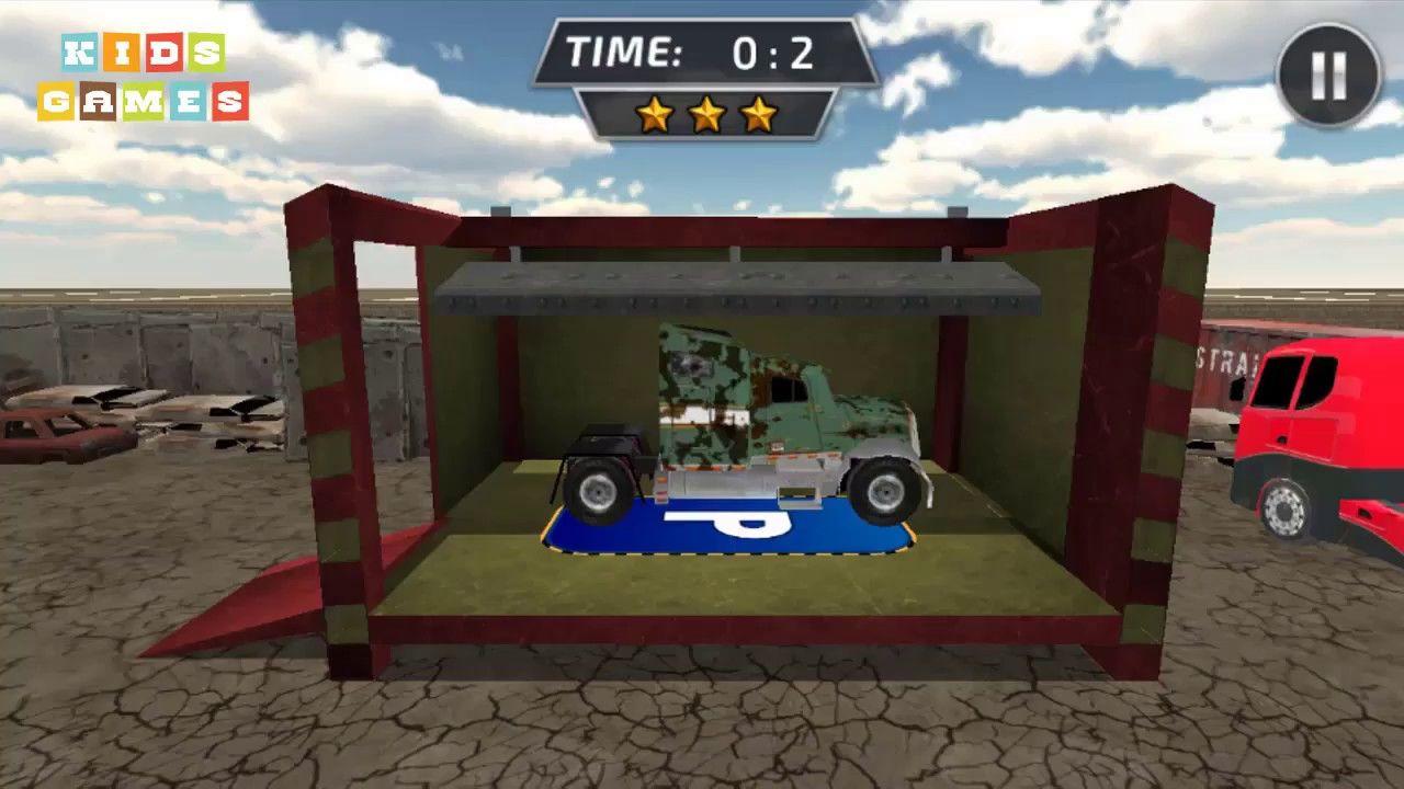 Car Games 2017 ♫ Dump Truck Crusher Junkyard 3D - Android GamePlay ♫ Games  for Kids
