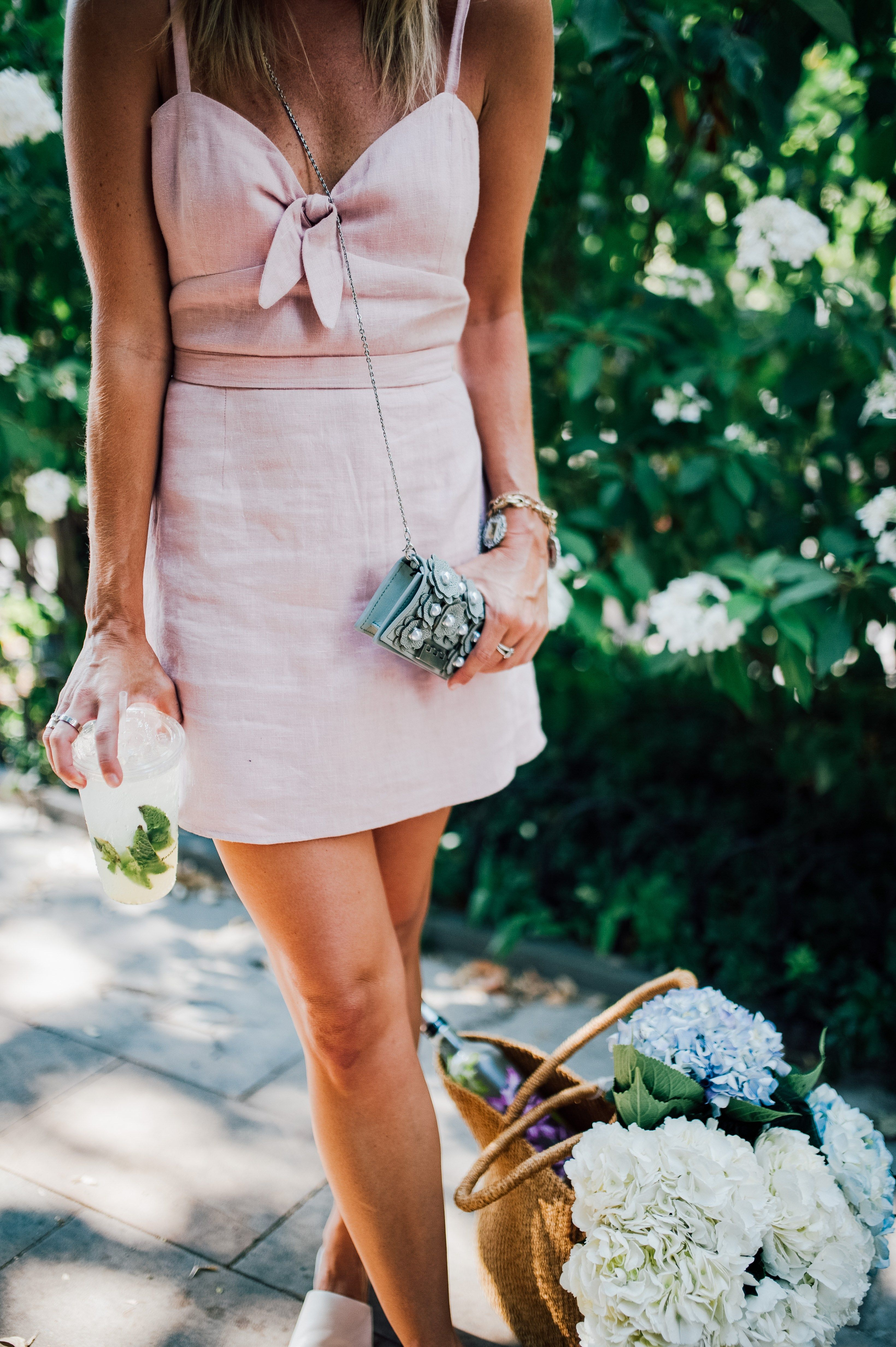 573dbb8e48c Late Summer Picnic and the Perfect Pink Dress