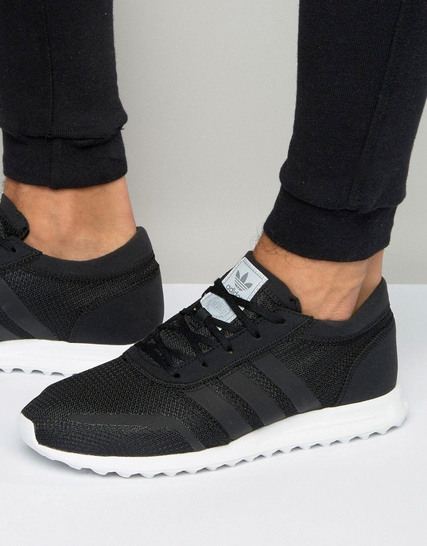 Adidas Originals Los Angeles Sneakers In Black S31533