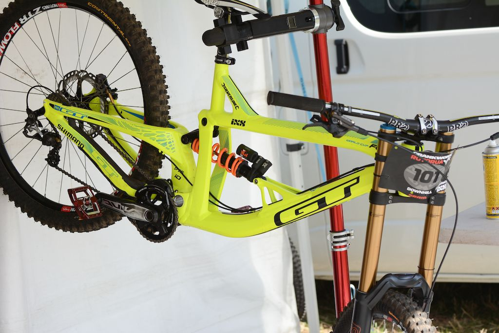 7 Downhill Bike Checks Crankworx Rotorua Downhill bike