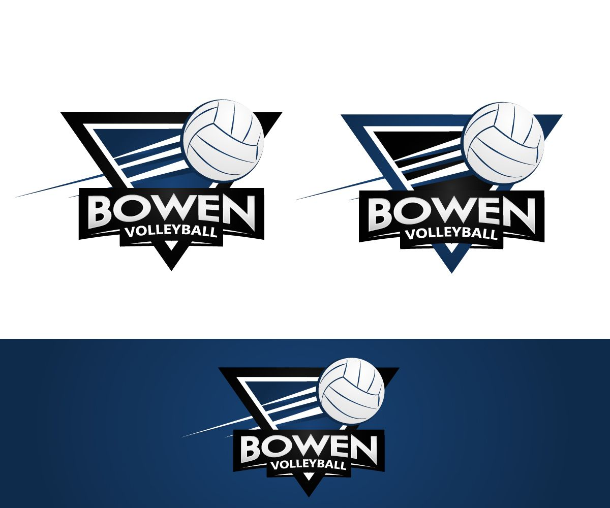 Volleyball Bowen Logos Logo Design Sports Design