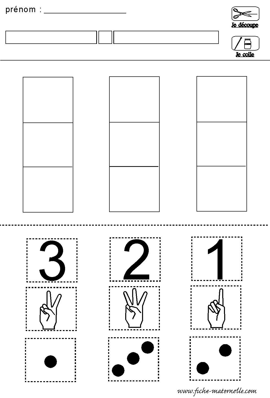 chiffre constellation doigts | Mathématiques à l'école maternelle ...