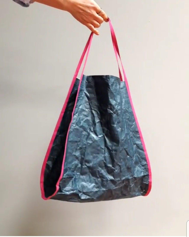 Ultraleichte Tasche Papierstoff Nähen Mit Papierstoff Bags Und