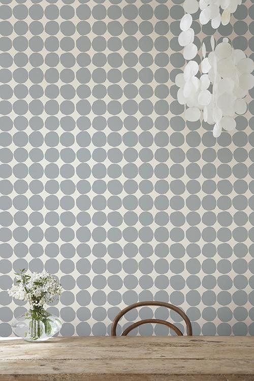 Pienet Kivet (Wallpaper) by Marimekko