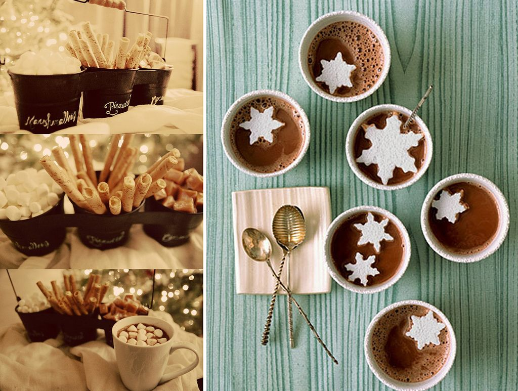 Christmas Party Ideas For Small Business Part - 17: Hot Coco Bar :: Cute Ideas On How To Make A Holiday Hot Chocolate Bar