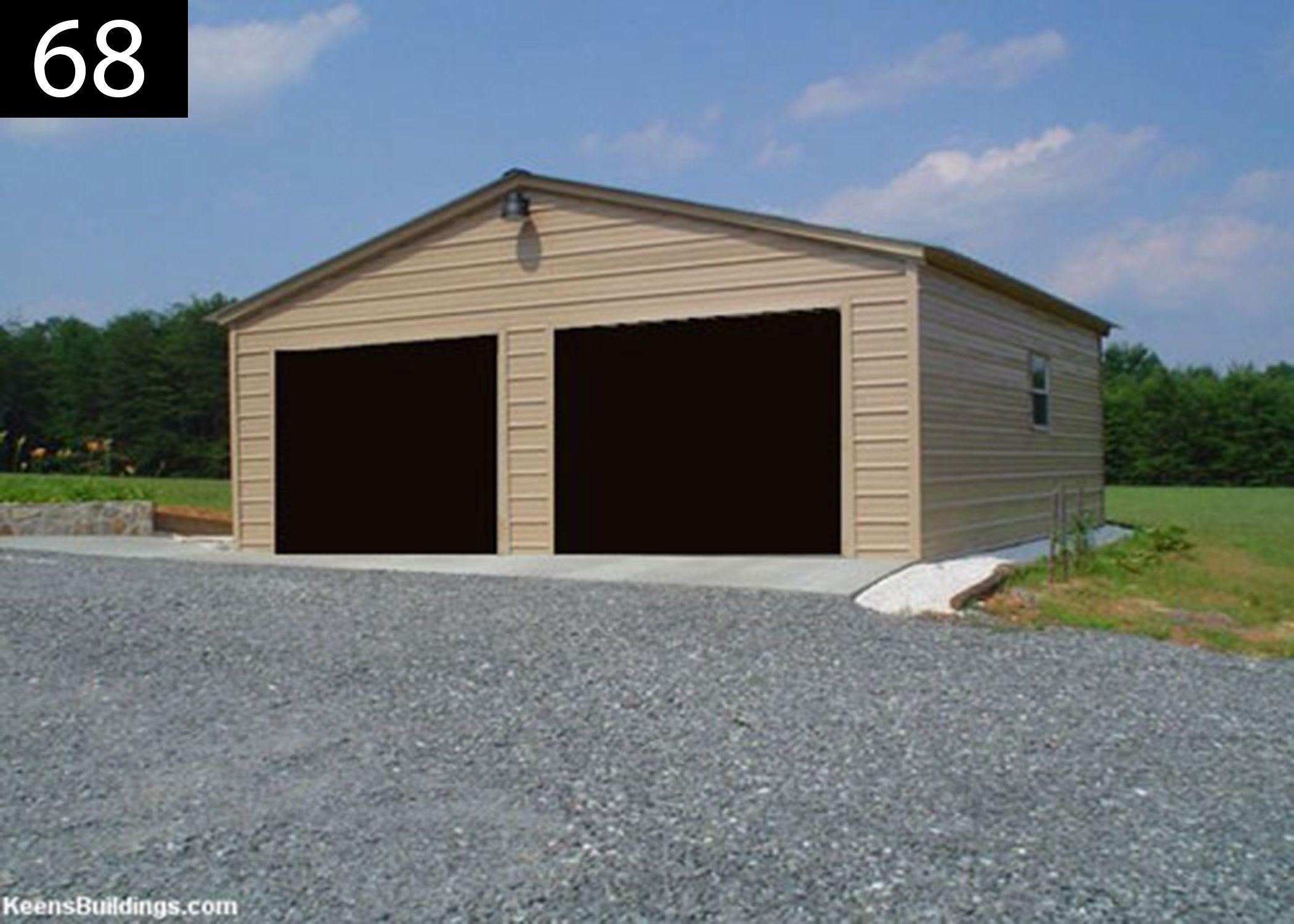 Enclosed Steel Garages Steel Buildings Keens Buildings Garage Installation Metal Buildings Carport Prices
