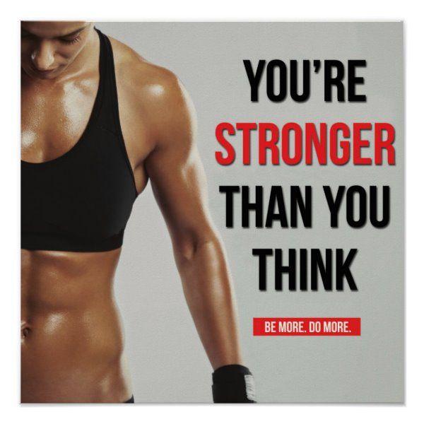 Workout Motivational Poster   Zazzle.com