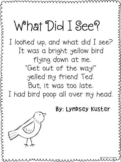 Awesome rhyming poems