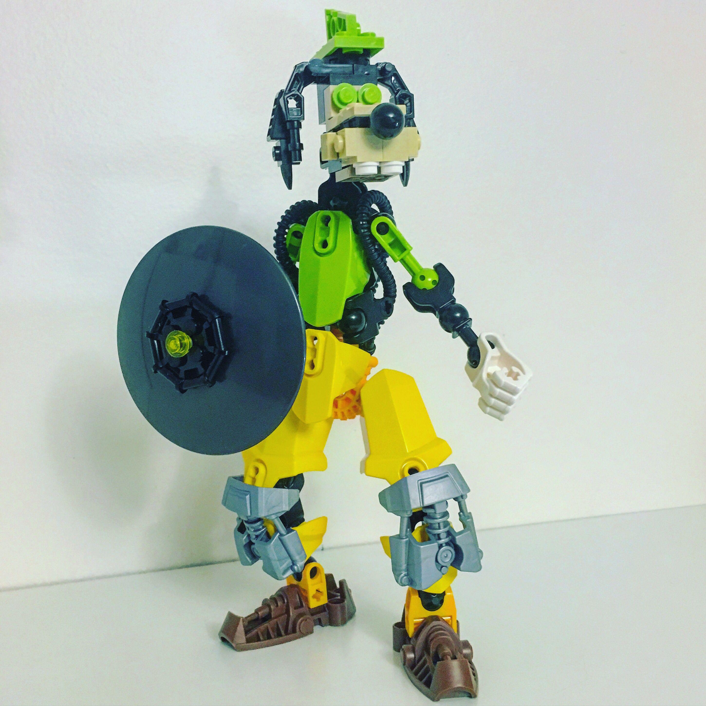 Kingdom Hearts Goofy Lego MOC