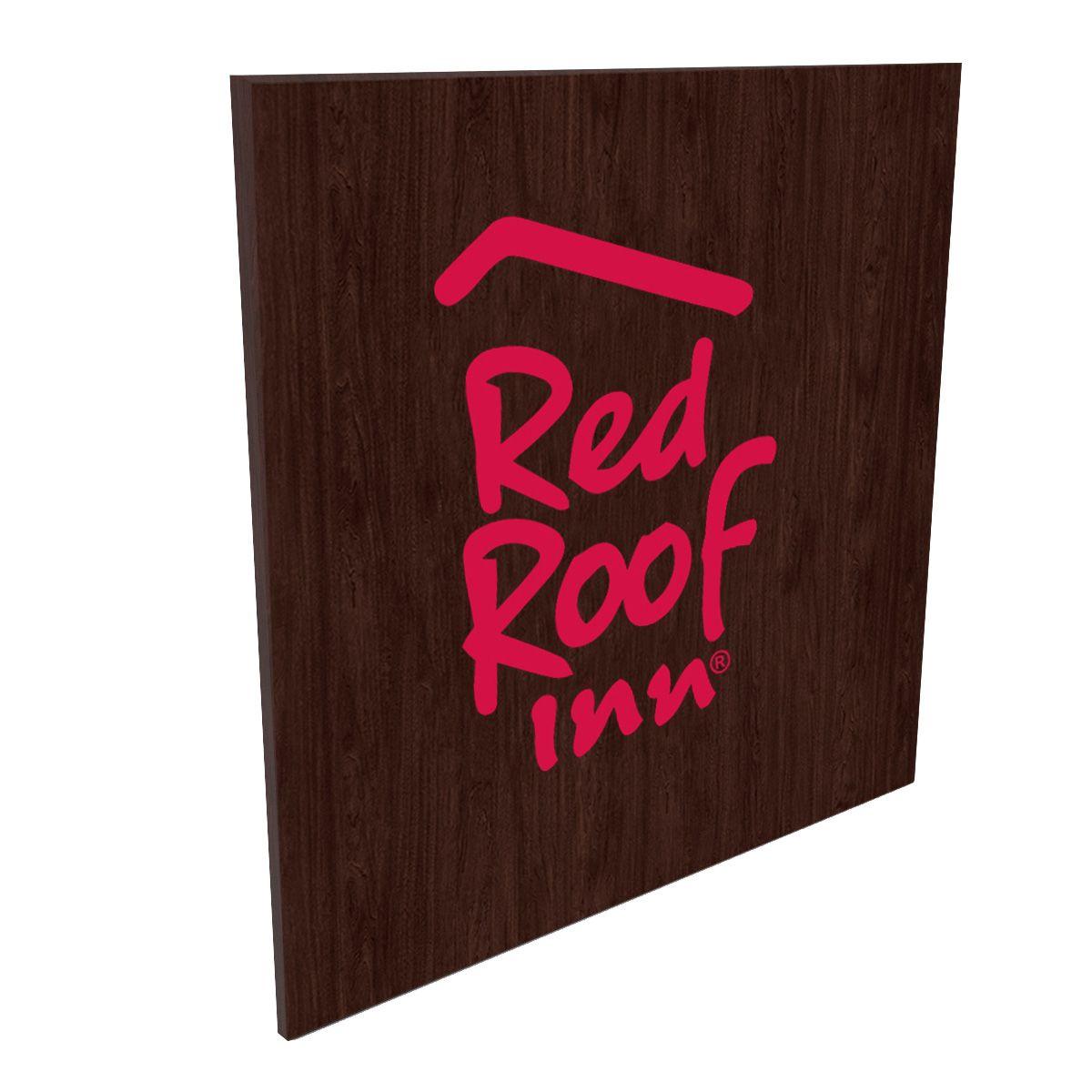 Red Roof Inn - Lobby Sign