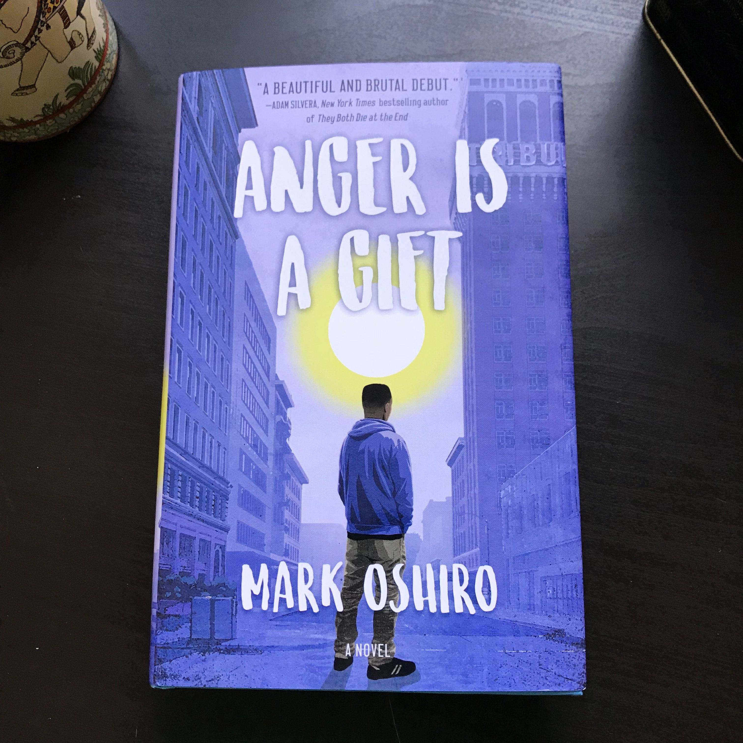 Weve been spending time with our book date anger is a