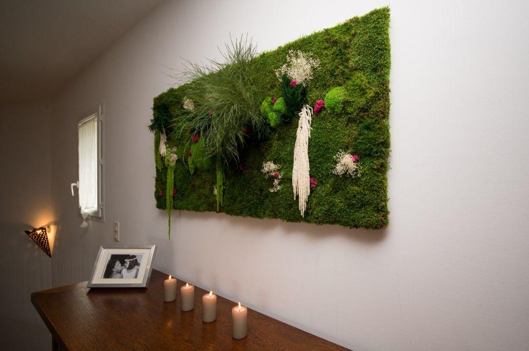 mur v g tal int rieur naturel zielone ciany pinterest bonsai. Black Bedroom Furniture Sets. Home Design Ideas