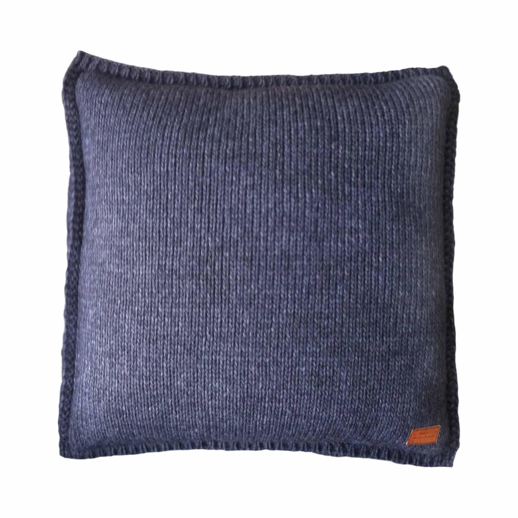 Gant Solid Knit Kissenbezug 50 X 50 Cm Violette Wartungsarbeiten