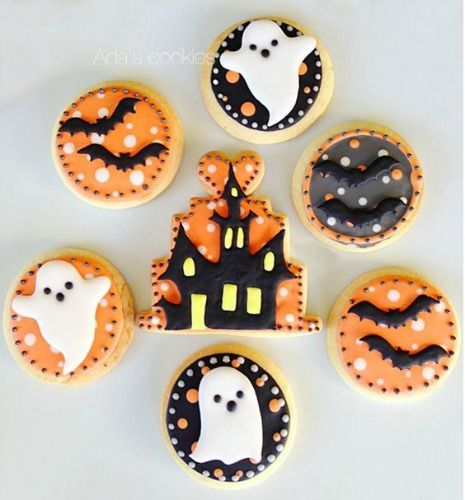 Top 12 Halloween Cookies | Today I have brought together 12 of the best Halloween cookies (& biscuits) that are scarely good!
