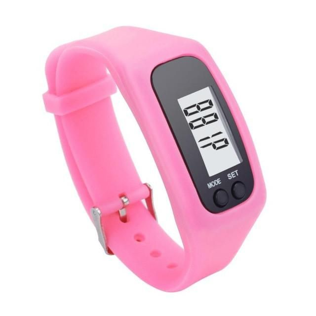 2cb49a978b0 2017 the Newst Stylish bracelet Digital LCD Pedometer Run Step Walking  Distance Calorie Counter Watch Bracelet hot sale