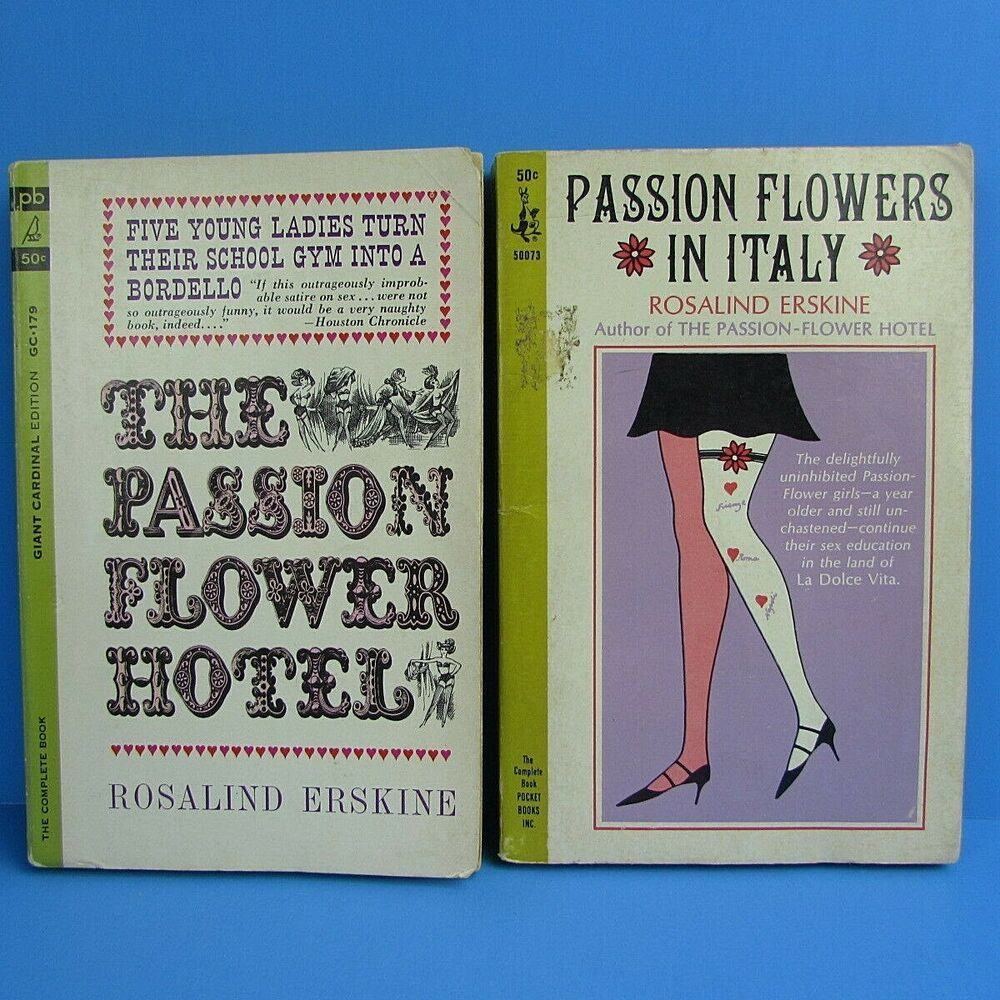 The Passion Flower Hotel Passion Flowers In Italy Lot 2 Rosalind Erskine Books In 2020 Passion Flower Bedtime Story Books Bedtime Stories For Toddlers