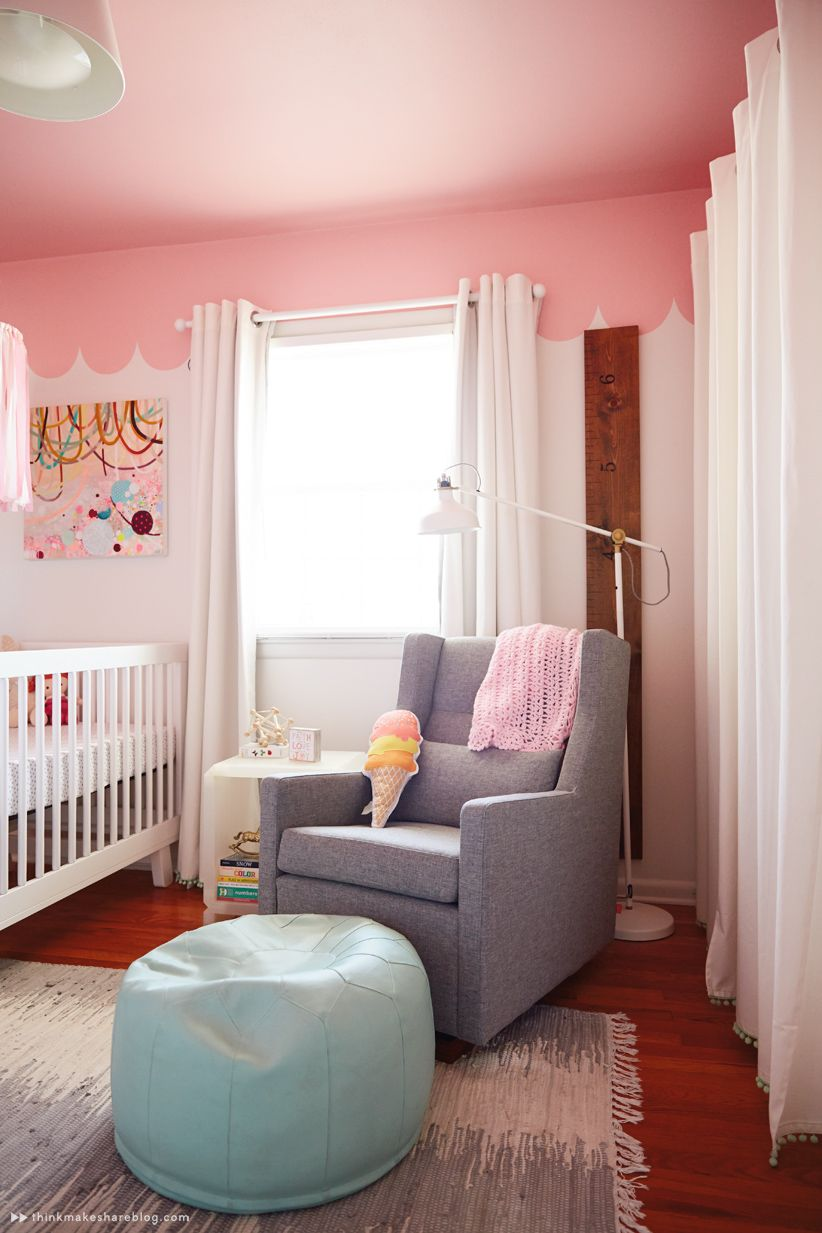 Hallmark Designer Laura Linebarger Gives Us A Tour Of Her Daughter S Nursery Thinkmakeshareblog