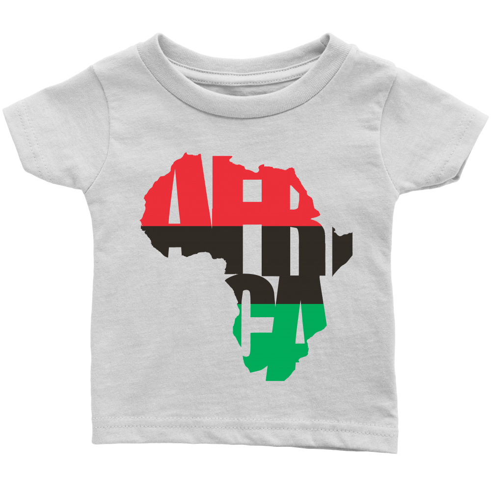 Rbg africa inside of me infant tshirts shirt with story