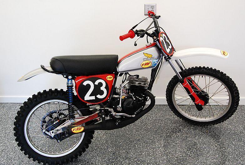 vintage honda dirt bikes classic