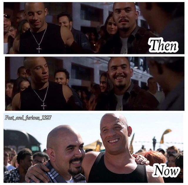 Hector is back lol and Dom the Fast and the Furious movies