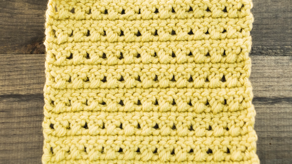 How to Crochet the X Stitch | Adicto