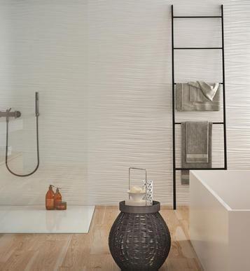 Absolute White Fliesen für das Bad Gestaltungsideen mit Keramik