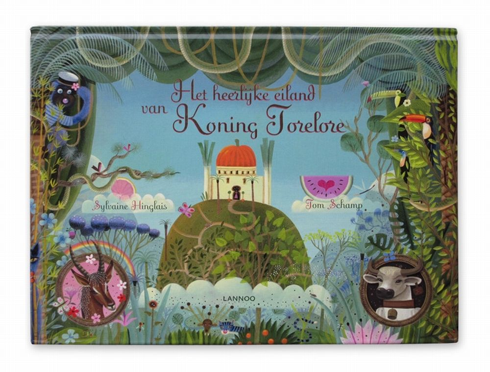 Book The lovely island from king Torelore   Illustrations from Tom Schamp
