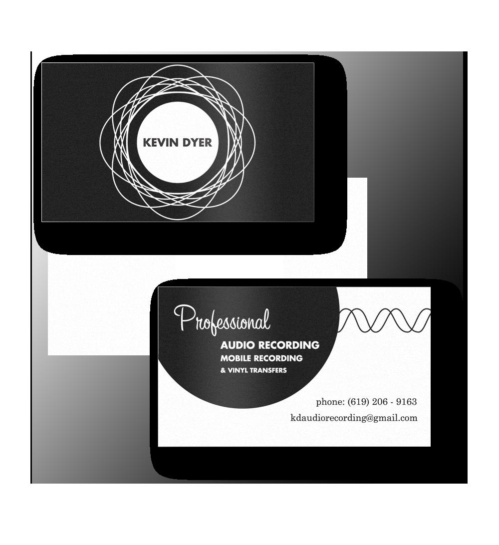 sound engineer business card - Cerca con Google | grafics ...