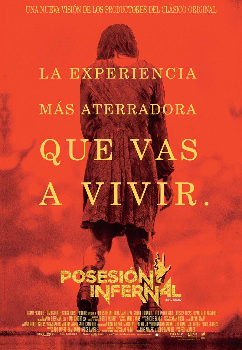 Posesion Infernal Evil Dead Trailer Y Poster Finales Para Espana Posesion Infernal Carteleras De Cine Criticas De Cine