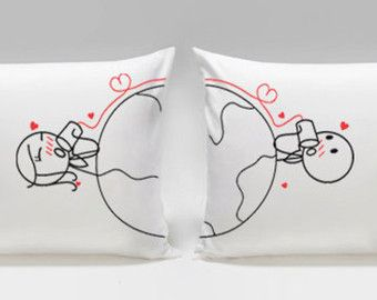 Love You Madly™ Couple Pillowcase Set