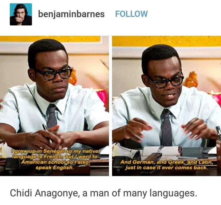 The Good Place Chidi