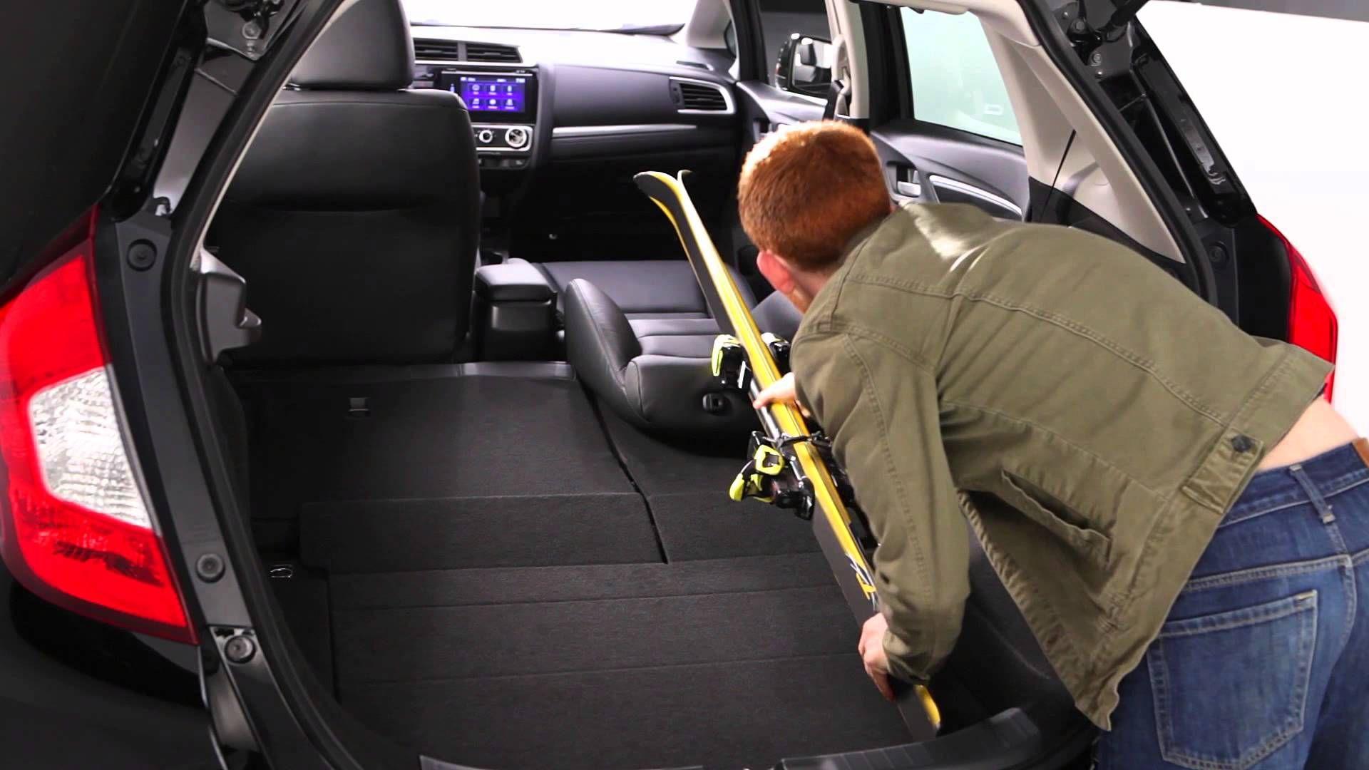 2015 Honda Jazz Fit Interior Cargo Space Honda Jazz Honda Jazz