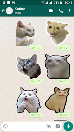Funny Cat Stickers For Whatsapp Wastickerapps Apps On Google Play Funny Cats Cat Stickers Funny Cat Pictures
