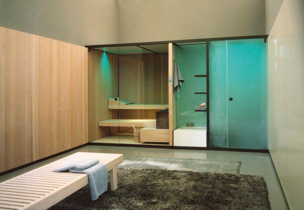 Sauna van Effegibi bij Hanolux De Wellness  outdoor living
