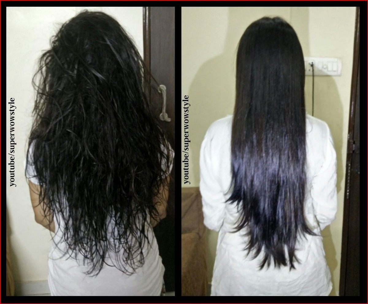 the hair dry and frizzy Glycerin for hair, Indian