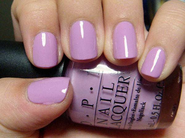 Opi Lucky Lucky Lavender Nail Art