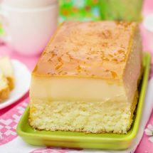 Recette : Gâteau magique (Thermomix)