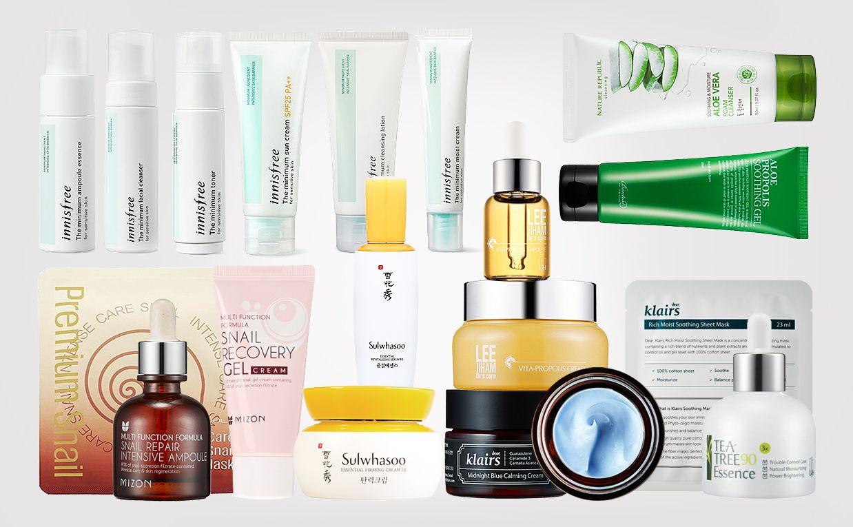 Korean Skin Care For Sensitive Skin Troubled Skin Irritation And Redness Skin Care Redness Skin Care Brands Dry Sensitive Skin