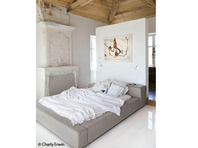 Tete De Lit 25 Tetes De Lit Pour Tous Les Styles Elle Decoration Chambre Parentale Avec Dressing Tete De Lit Separation Deco Chambre
