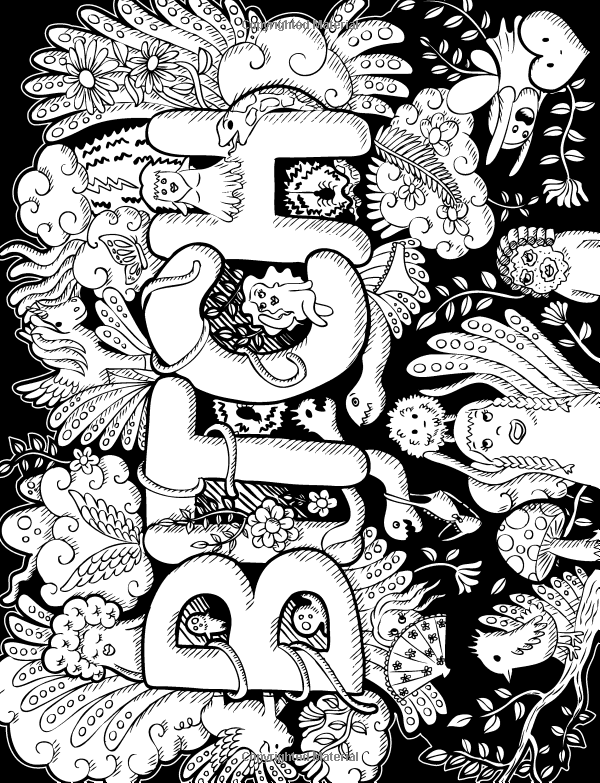 Swear Word Coloring Book 40