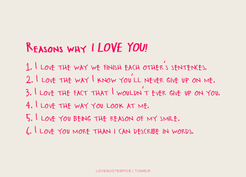 52 Reasons I Love You Quotes : ... love marriage quotes i love you quotes quotes pics quotes images