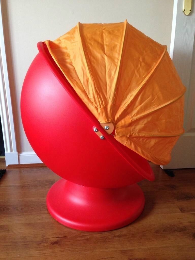 Attirant Furniture, : Inspiring Chair Design Ideas For Kids Room With Red Egg Chair  Designed With