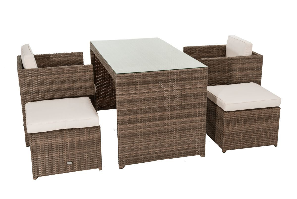 Balkonmöbel set platzsparend  Gartenmöbel-Set Moreno, 5-tlg., sehr platzsparend, inkl. Sitz-und ...