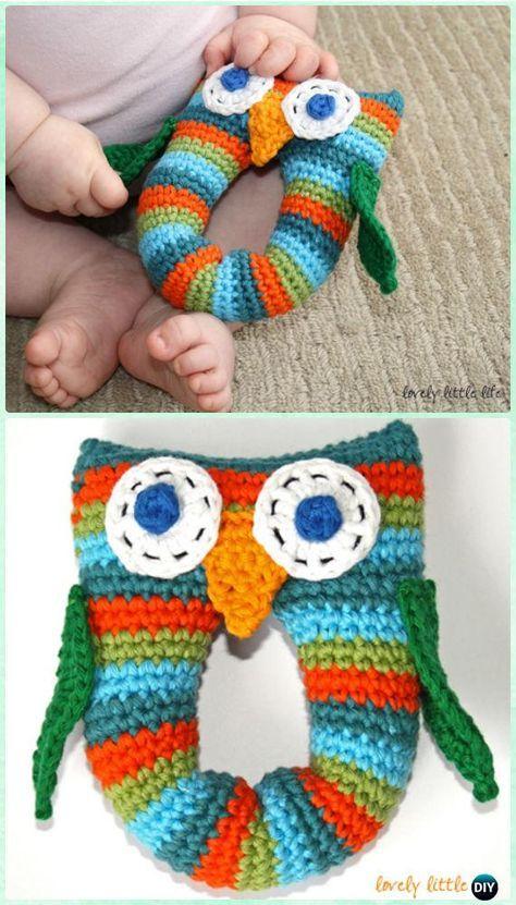 Amigurumi Crochet Owl Free Patterns Instructions   Crochet owls ...