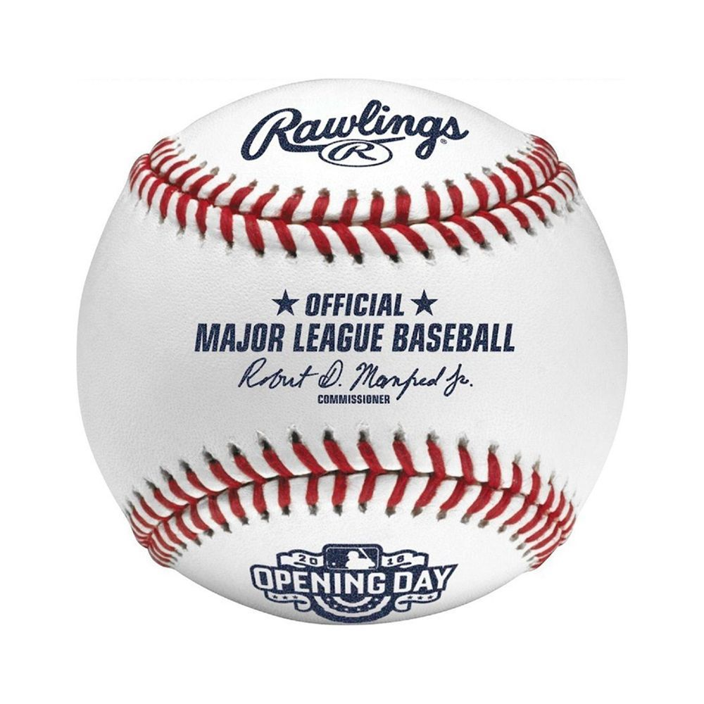 08ee3b438 Creative Sports Rawlings Official 2016 Opening Day Rawlings Baseball with  Display Case