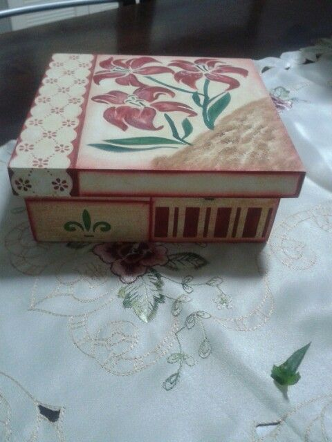 Lateral da caixa