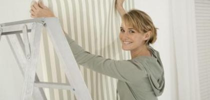 How to Put Wallpaper on Formica Paintable wallpaper