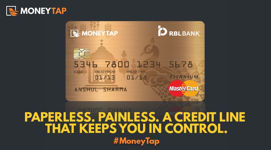 Moneytap Credit Card With Images Credit Card Credits Cards